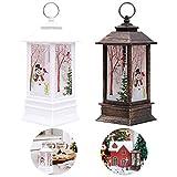 Venta de decoraciones navideñas, 2 velas de Navidad con luz LED de té de Navidad muñeco de nieve...