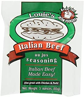 Louie's Italian Beef Seasoning, 3-Ounce (Pack of 8) by Louie's