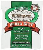 Louie's Italian Beef Seasoning, 3-Ounce (Pack of 8) by Louie's