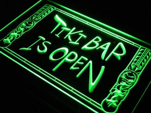 ADV PRO Enseigne Lumineuse s110-g Tiki Bar Open Mask Pub New Neon Light Sign