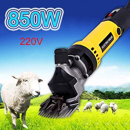 DWXN Alta Potencia eléctrica Tijera eléctrica de Lana atenuador para Mascotas/piensos para el Ganado de Lana Herramientas 850W