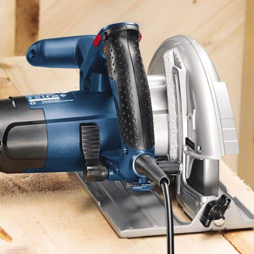 Bosch Professional Hand Held Circular Saw GKS 190 (240 V, Saw Blade Ø 190 mm, Rated Input Power 1,400 W, incl. 1 x Circular Saw Blade, Parallel Guide, Hex Key)