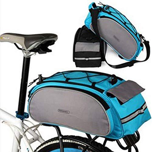 Huntvp® 25L Gepäckträgertasche Wasserdicht Fahrradtasche Hinterradtasche Satteltasche für Fahrrad MTB Gepäckträger Radfahren