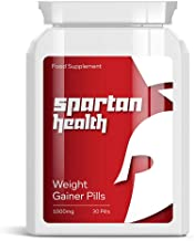 SPARTAN HEALTH WEIGHT GAINER PILLS aE PUT ON SIZE BULKING PILL GAIN SIZE MUSCLE Estimated Price : £ 19,99