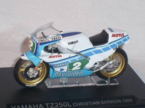 Ixo Yamaha Tz250l Tz 250 L Christian Sarron 1984 1/24 Altaya by Modellmotorrad Modell Motorrad