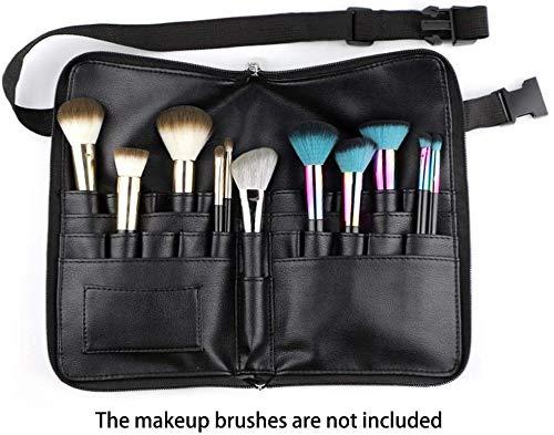 Trousse à pinceaux de Maquillage, 24 Poches, Trousse de Maquillage Professionnelle, Poches de Maquillage Brosse Sac Maquillage Professionnel Tablier Maquillage