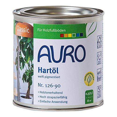 AURO Hartöl weiß pigmentiert 0,375 Liter Nr. 126-90