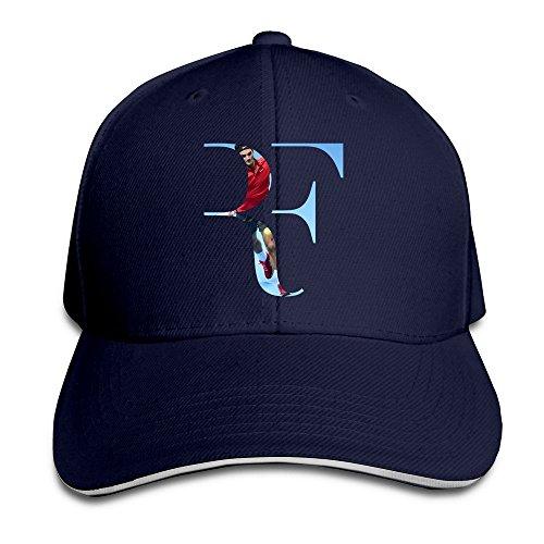 Feruch Sunny Fish6hh Unisex Adjustable Roger Federer Baseball Caps Hat One Size Navy