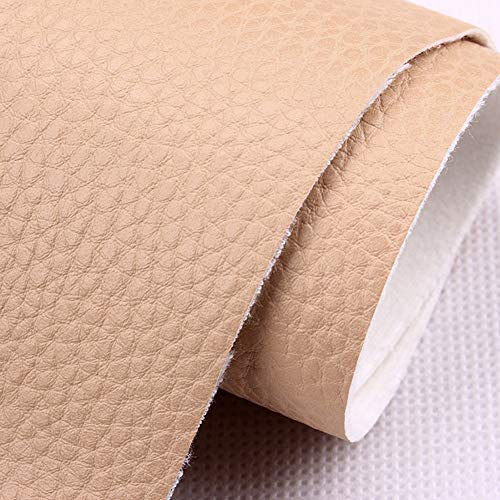 Touguqing Polipiel Tela Cuero Sintético Cuero de imitación Cuero granulado Cuero sintético Vinilo Cuero Resistente, for amueblar sofás, sillas, Bolsos, tapicería