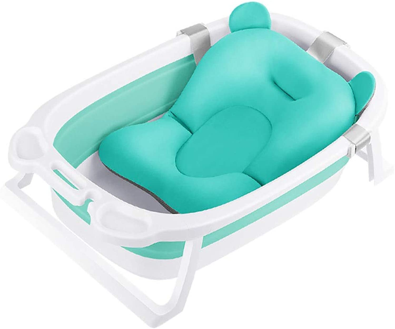 FoldingBadewanneFaltbareKinderBabyschwimmenBathtubFoldingPlastikeimerSilikonundKunststoffdickerFoldingWannentragbareWschewanne Mit AblaufstpselFüe Ideal Antirutsch Mit Weiches Badewannenkissen