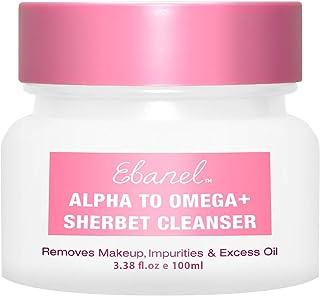 Ebanel Makeup Remover Cleansing Balm, 1-Step Nourishing Sherbet Oil Cleanser, Instantly Removes Waterproof Mascara, Makeup...