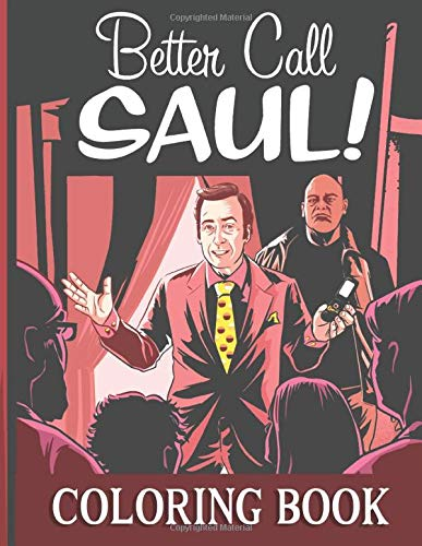 Better Call Saul Coloring Book: 25 high quality line art images of Better Call Saul series to color