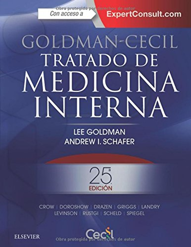 Goldman-Cecil. Tratado De Medicina Interna + Expertconsult - 25ª Edición