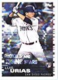 2019 Topps MLB Stickers Baseball #221 Luis Urias/Brandon Nimmo RC Rookie Card San Diego Padres/New York Mets Trading Card Sized Album Sticker with Collectibl... rookie card picture