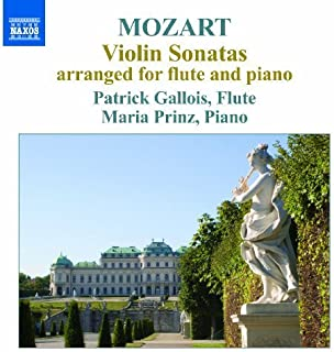 Mozart: Violin Sonatas Arranged For Flute And Piano (Dieter Flury, Maria Prinz) (Naxos: 8573033) by Dieter Flury (2013-02-14)