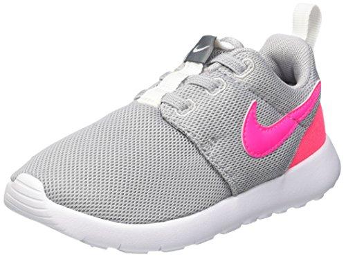 Nike Unisex Kinder Roshe One (TDV) Krabbelschuhe, Rosa/Grau/Weiß (Wolf Grey/Hypr Pink-Cl Gry-Wht), 26 EU