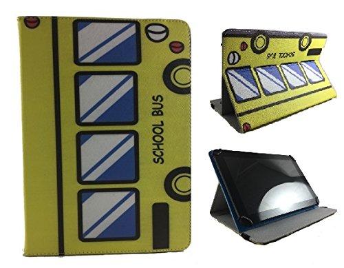 Theoutlettablet® Schutzhülle für Tablet Trekstor Surftab Xiron 10,1 Zoll - Bus