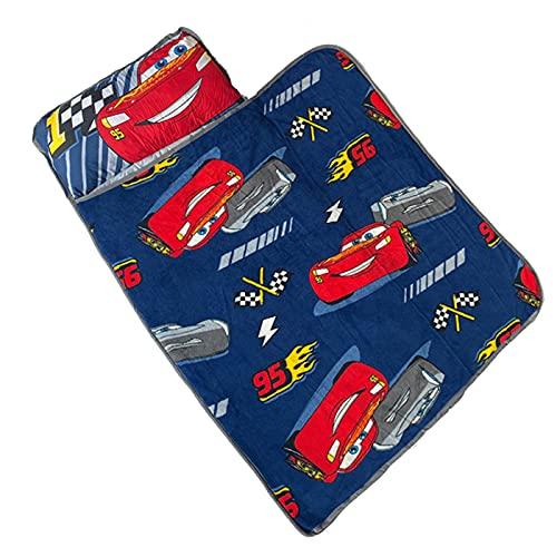 YULE Manta de siesta para niñas, congelada, portátil, enrollada, con manta de almohada, para niños, coches, Mickey Minnie, saco de dormir, regalo para bebés y niñas (color: 7, tamaño: 110 cm)