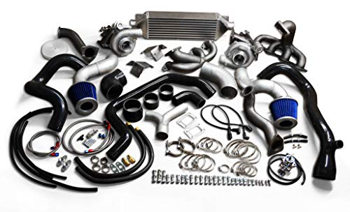 MMI GM VORTEC TWIN TURBOCHARGER KIT PACKAGE CHEVY GM