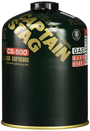 キャプテンスタッグ レギュラー ガスカートリッジ CS-500 M-8250