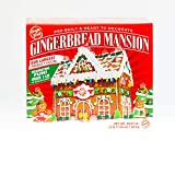 Gingerbread Mansion Holiday House Kit - Pre-Built - Ready to Decorate - HUGE HOUSE - 3 POUNDS