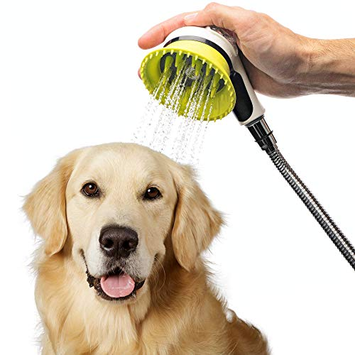 Handheld dog wash kit