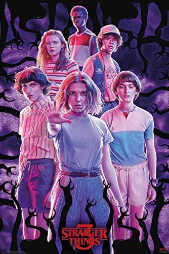 GB eye Poster Stranger Things 3