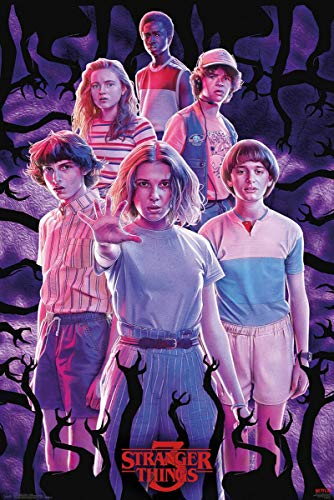Stranger Things 3 Group Maxi Poster
