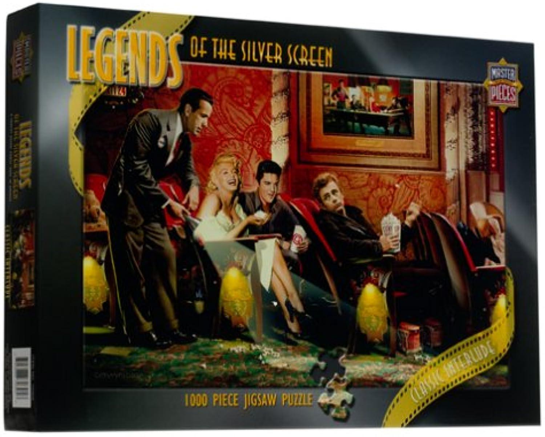 compras de moda online Legends of the the the plata Screen - Classic Interlude Jigsaw Puzzle 1000pc by American Puzzles  precios bajos todos los dias
