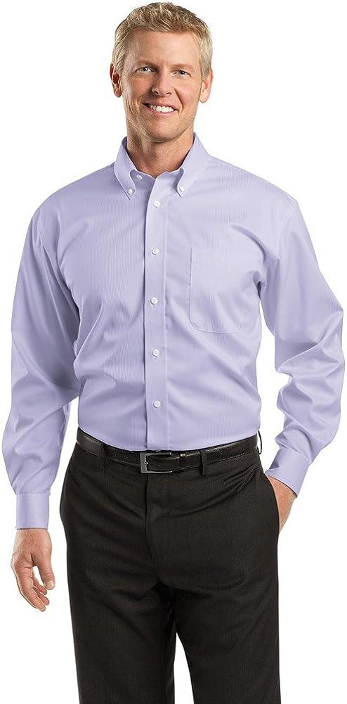 Red House Mens Dobby Non-Iron Button-Down Shirt