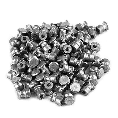Walmeck Reifen-Bolzen-kleine Schrauben-Harter Legierungs-Schnee-Nagel Anti-Rutschschrauben für Automobil-Reifen-Bolzen-Schrauben-Selbstauto-Zusätze 100 PC 8 * 10mm