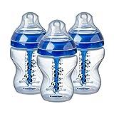 Tommee Tippee CTN-FED53 Anti-Kolik-Flasche für Stillen, ab 0 Monaten, BPA-frei, transparent, 200 g