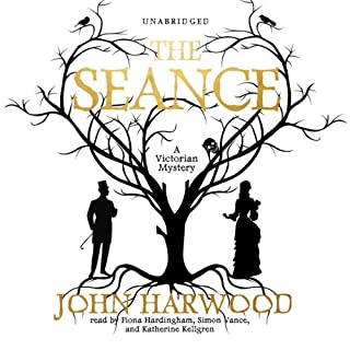 The Séance audiobook cover art