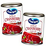 Ocean Spray Cranberry Sauce Value Pack -- 2 Cans of Jellied Cranberry Sauce. Each can is 14 Oz (28 Oz Total). Enjoy the tangy, sweet taste of Ocean Spray Jellied Cranberry Sauce. Made with the same unique cranberry goodness as Ocean Spray Juice Cockt...