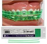 Element Braces Comfort Lip Bumper (Green) - Orthodontic - Dental