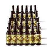 Pack cerveza artesana | Estilo Pils 5,2% Alc. 24 unidades. Cervezas Albero
