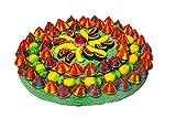 REGALO DULCE Tarta Chuches Original, Pastel de chuches Cumpleaños de dos pisos, Tarta Chucherias con 120 golosinas, 960 gr, 30x30 cm