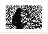 "JUNIQE® Rock Jimi Hendrix Poster 40x60cm - Design ""Jimi"