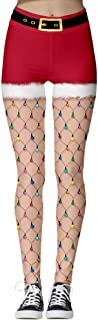 Andopa Women's Fashionable Digital Print Tenths Pants High Waist Tights Yoga Pants