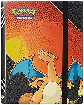 Ultra Pro Pokemon  Charizard 9-Pocket Full-View PRO Binder Red