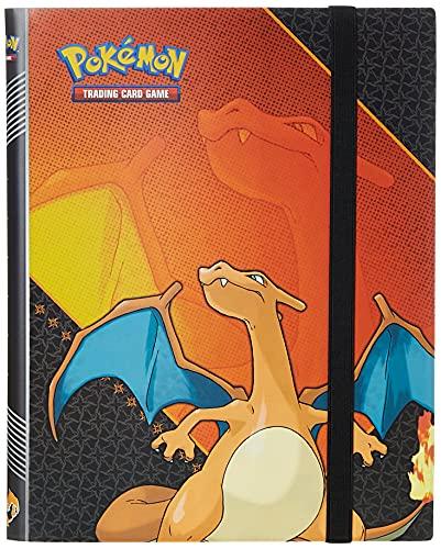 Ultra Pro Pokemon: Charizard 9-Pocket Full-View PRO Binder Red