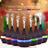 QUICKLYLY 300ml Humidificadores Ultrasonicos Aromaterapia USB Gran Capacidad Bebes Silencioso...