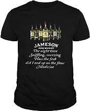 Jameson Irish Whiskey The Nighttime sniffling Sneezing Shirt