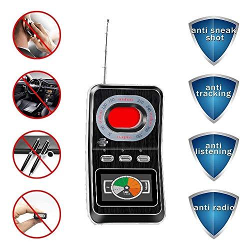Anti Spy RF-Detektor Wireless-Signal für versteckte Kamera Laser-Objektiv GSM Abhörgerät Finder Radar Radio Scanner Wireless Signal Alarm
