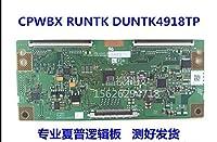 for SHARP Logic Board CPWBX RUNTK DUNTK 4918TP LE-40TL1600