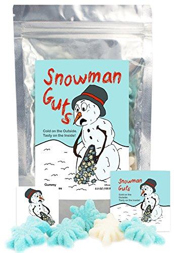 Snowman Guts - Gummi Snowflakes