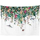 Tapiz de pared Obal, tela, Pájaro tropical, 200 cm x 150 cm