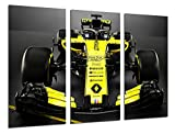 Wandbild - Formel 1 Auto,Renault R.S.18, Renault F1 2018,