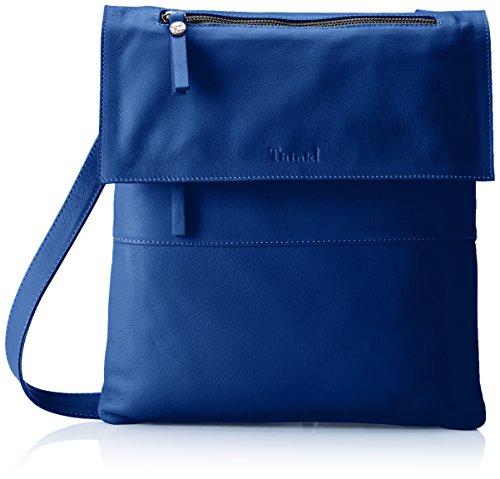 Think! Damen Tasche_282802 Umhängetasche, Blau (Capri 89), 4x30x30 cm