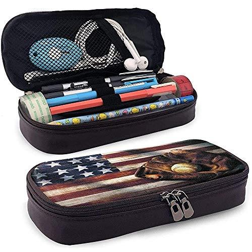 Volleyball Baseball Us America Flag Briefpapier Tasche Beutel Tasche Tragbare Halter Tasche Münztasche Tasche